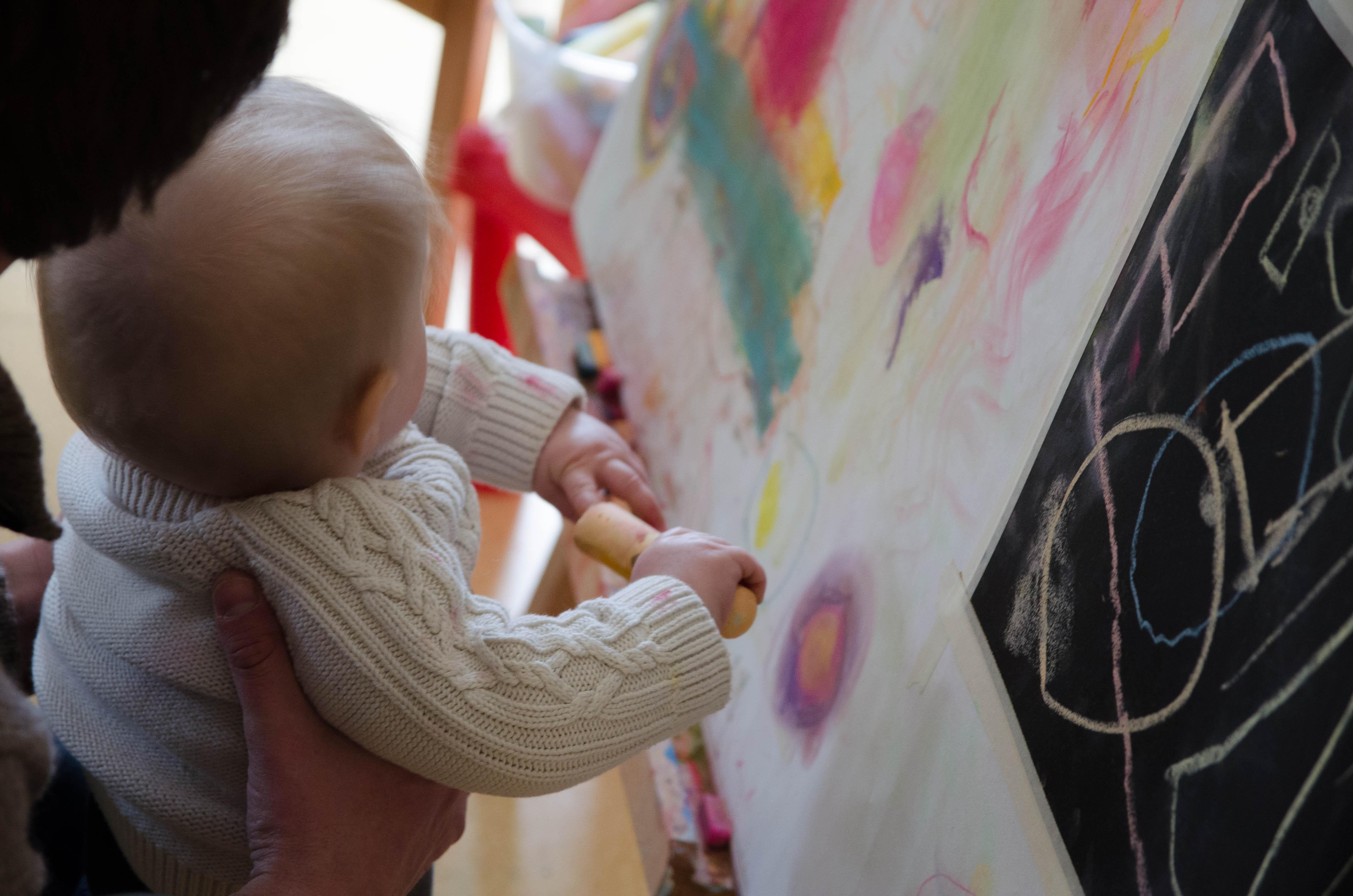 Ateliers avec la petite enfance