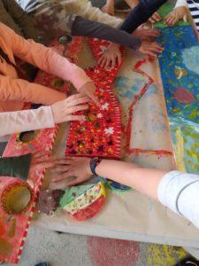 Collaboration avec l'école de Thorame-Haute